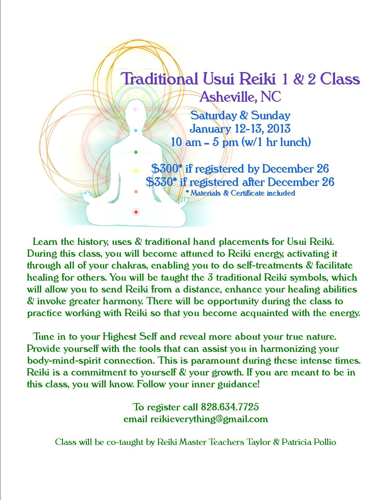 Traditional usui reiki 1 2 class asheville nc divine timing image biocorpaavc Image collections