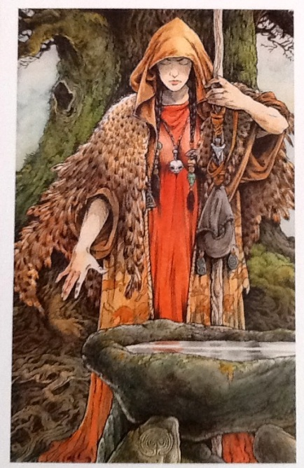 The Wild Wood Tarot - The Seer