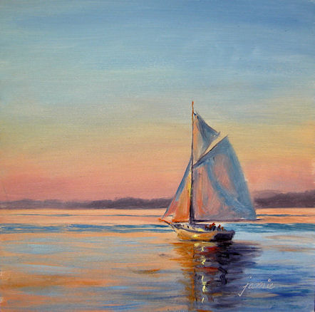 110118-Sailing-at-Sunset-6x6-450.jpg